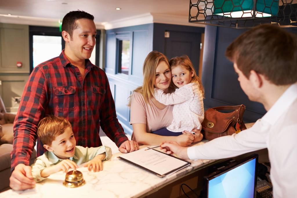 gestion hôtelière, réservation intégrée
